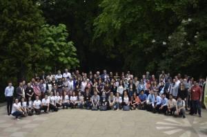 AIDA organizasyon ekibi ve katılımcıları - Bükreş Üniversitesi